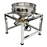 Taishi Commercial Automatic Electric Sifter Shaker Machine,Vibrating Flour Sifter with 19.6