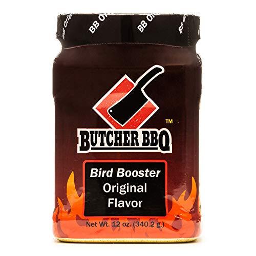 Butcher BBQ | World Championship Winning Formula | Bird Booster Original Turkey Injector Marinade | Better Than Turkey Brine | More Moisture and Flavor for Poultry | Chicken & Turkey Seasoning