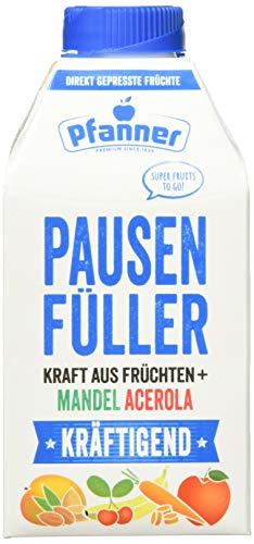 Pfanner Pausenfüller - Direktsaft - Kräftigend, 8er Pack (8 x 500 ml)