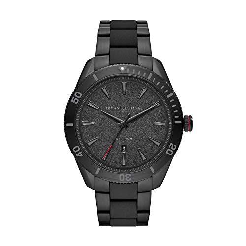 Armani Exchange Reloj Analogico para Hombre de Cuarzo con Correa en Acero Inoxidable AX1826