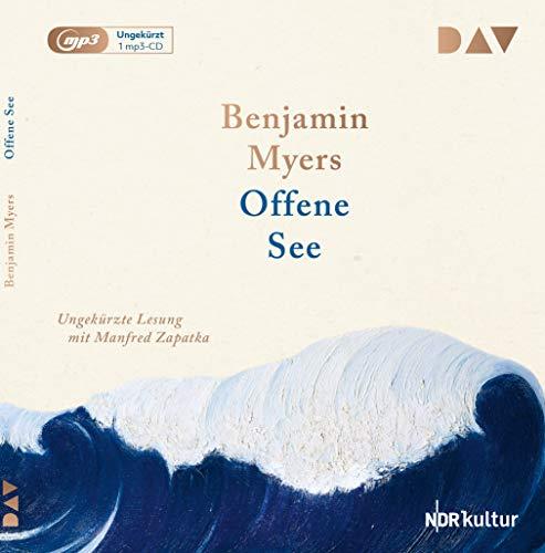 Buchseite und Rezensionen zu 'Offene See: Ungekürzte Lesung mit Manfred Zapatka (1 mp3-CD)' von Benjamin Myers