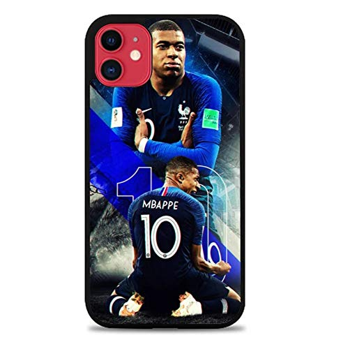 PEWORWEY Case/Handyhülle/Hülle/Coque/Custodia/Carcasa/Cover/Shell,Mbappe DIY Phone Case for Samsung Galaxy S6, Kylian-Mbappé,[M229-4033]