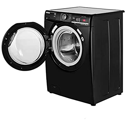 Hoover Dynamic Next DXOA410C3B 10Kg Washing Machine with 1400 rpm - Black / Chrome - A+++ Rated