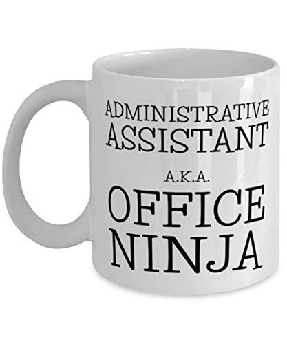 shenhaimojing Assistant administratif Aka Office Ninja Admin Assistant Tasse de café pour Femmes Hommes