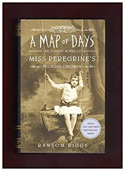 Hardcover A Map of Days - Target Exclusive Signed Edition (Miss Peregrine's Peculiar Children) Book