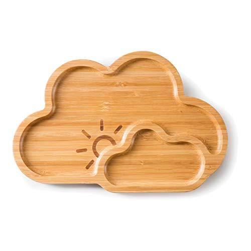 Bamboo Plate Cloud Nine/Brett aus Bambus 26x17x1,5