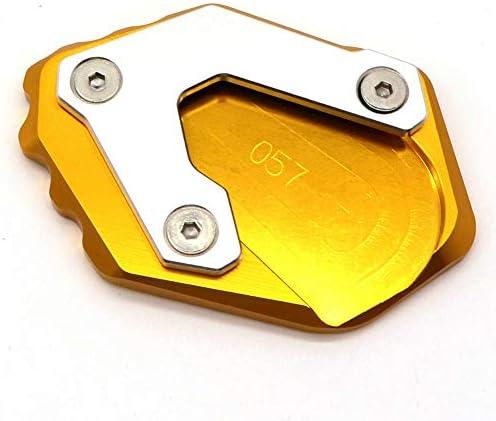 Motorrad Ständer Aluminium Seitenständer Platte Erweiterung Vergrößern Pad Für R1250gs Küche Haushalt