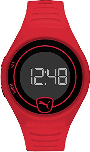 Puma Faster Reloj Digital Color Rojo - Ref P5029