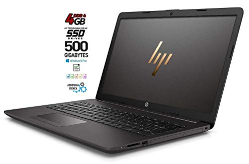 HP 255 G7 Notebook portatile, SSD M2 da 500GB, Display da 15.6', Amd A4 64bit da 2,6 GHz, 4 Gb DDR4, Bt, Wi-fI, Dvd-Cd Rw, 3 usb, web cam, Win10 Pro, Office Pro 2019, Pronto All'uso, Garanzia Italia