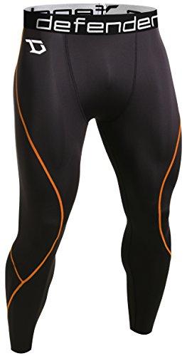 Defender Men's Compression Baselayer Pants Legging Shorts Tights Basketball BO_L