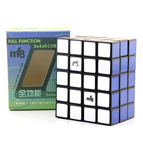 3D Speed Würfel 2x3x4 / 3x4x5 Ungleiche Ordnung Klassisches Dekompressionsspielzeug Schwarz Quader Education Twist Logic Game IQ Puzzlespiel,A
