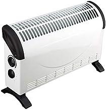 Calentador de radiador convector, termostato Ajustable / 3 configuraciones de Calor Ajustables (750/1250/1800 W) / Eléctrico/Calefacción por convección/Radiador sin Aceite Uso del baño en el dor