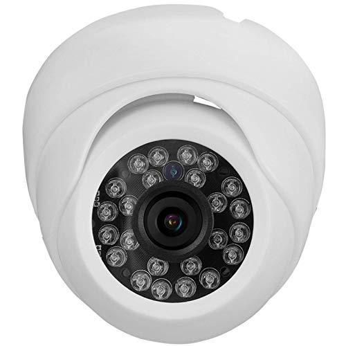 Cámara de Seguridad Domo para Exteriores IP66 Diseño Impermeable y a Prueba de Polvo Cámara de visión Nocturna infrarroja para Seguridad en el hogar(NTSC System)