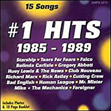 #1 Hits: 1985 - 1989