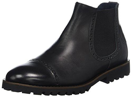 Marc O'Polo Herren Chelsea Boots, Schwarz (Black), 43 EU