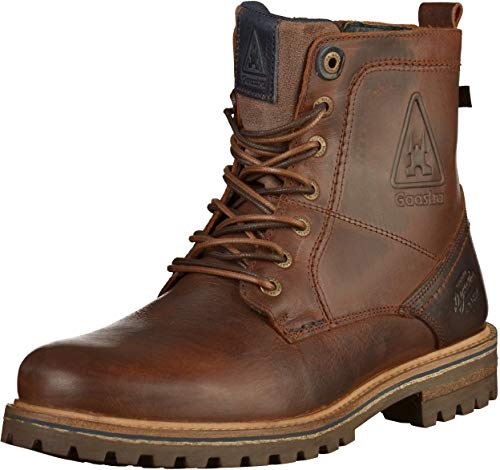 Gaastra Herren Cape HIGH M Biker Boots, Braun (Cognac 2400), 41 EU