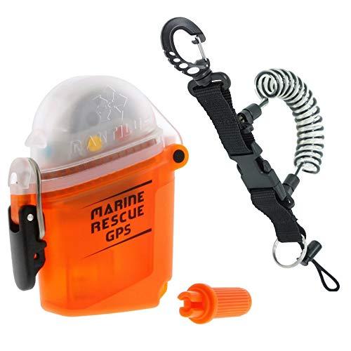 Nautilus Lifeline Marine GPS Rescue Radio w/Free Coil Lanyard