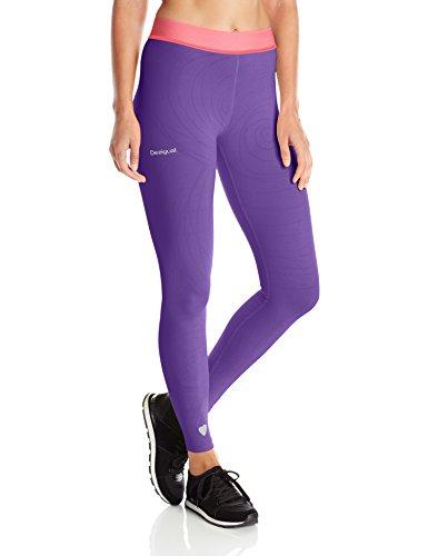 Desigual vrouwen gebreide legging, broek, Naranja