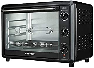 Sharp EO-60K-2 Electric Oven with Grill and Fan, 60 Liter - Black