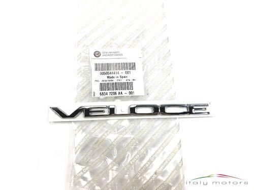 mächtig der welt Alfa Romeo Original Velos Inschrift 50544414