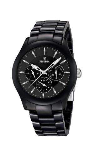 Festina Unisex Analog Quarz Uhr mit Keramik Armband F16639/2