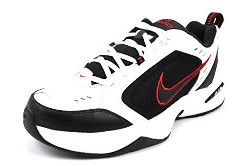 Nike Sneaker Sportschuh Air Monarch IV Herren Weiß Größe 46.5 EU Weiß (weiß-bunt-kombiniert)
