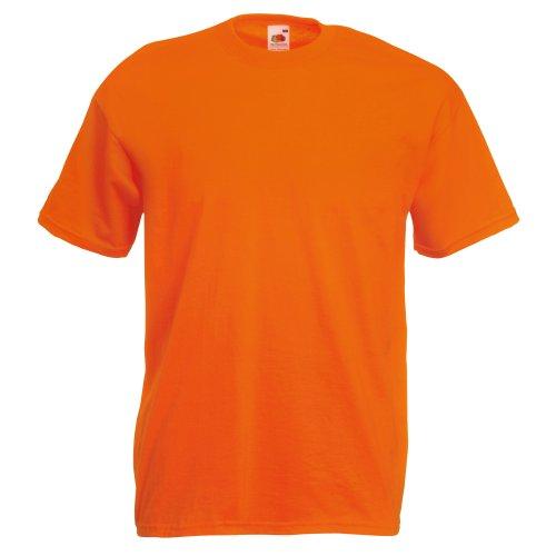 Fruit of the Loom - T-shirt - Homme Orange Arancio L