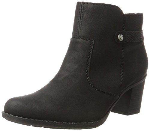 Rieker Damen L7661 Stiefel, Schwarz (Schwarz 00), 40 EU