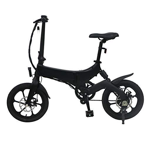 Lanceasy Bicis Eléctricas Bicicleta Plegable Aluminio, 3-4 Horas Tiempo de Carga, Ajustable, Portátil, Robusto, para Ciclismo al Aire Libre, Viajes Diarios, Viajes, Compras, Ejercicio