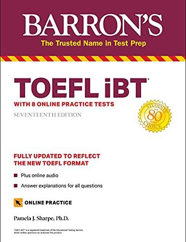 Barron's TOEFL iBT: With 8 Online Practice Tests