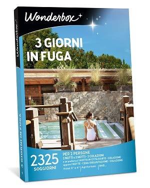 Wonderbox - Cofanetto Regalo - 3 Giorni in Fuga - Valido 3 A