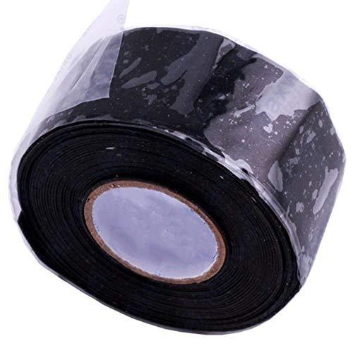 Ltong Ruban Auto-adhésif de scellage de réparation de Conduite d'eau étanche à Haute température et Haute Pression, B, 25mm