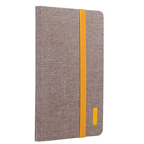 RZL Pad & Tab Custodie per Huawei MediaPad M3 8.4 BTV-W09   DL09, Cuoio astuta PU Tablet Coprire con Auto Sleep Wake Up + Film + Penna per Huawei MediaPad M3 8.4 (Colore : Khaki)