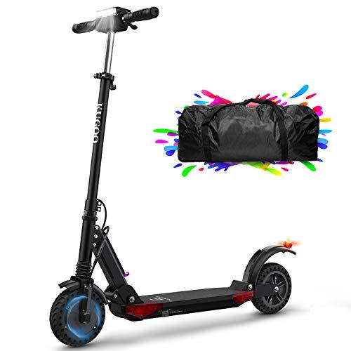 urbetter Monopattini Elettrici Adulto Scooter Elettrico Pieghevole Lungo Raggio di 30 km, velocità Massima 30kmh 350W Pneumatico a Prova di Esplosione da 8 Pollici, Kugoo S1 PRO (Nero)