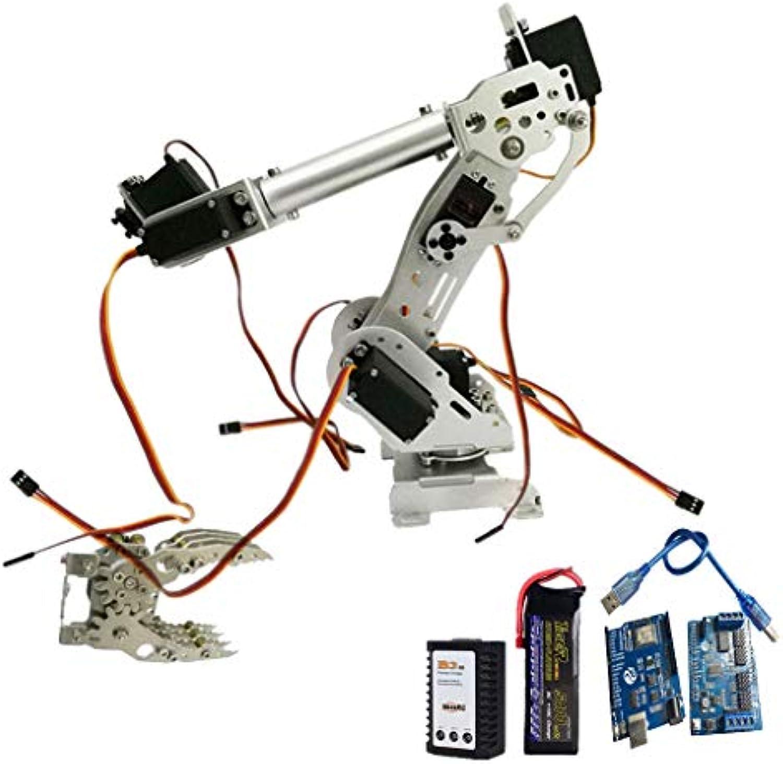 B Blesiya WiFi Control 8-DOF Roboterarmklauen-kit Verbesserte DT-3316 Servo Für Arduino-Programmierung