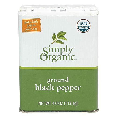 Simply Organic Black Pepper, Certified Organic   4 oz