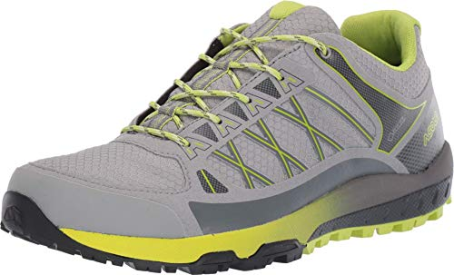 Asolo Women's Grid GV Hiking Shoe Grey Lime 7.5