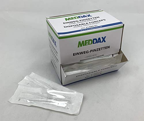 MEDDAX Einmal-Pinzetten steril 50+2 Stück