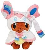 NC56 Plush Toy Anime Cartoon Eevee Poncho...