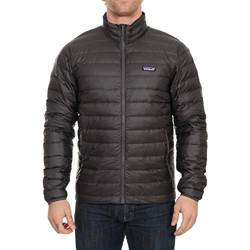 Patagonia M'S Down Chaqueta, Hombre, Gris (Forge), L