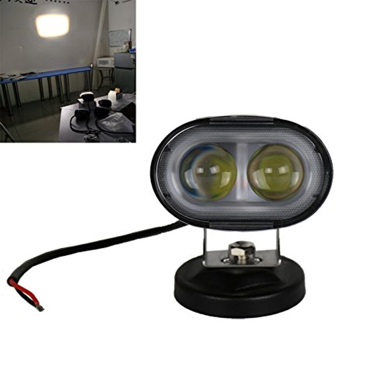 Gift Prod 20W 10~30V DC 2000 Lumen Forklift White Led Light Warehouse Safety Warning Lamp Spot Offroad Race Spotlight Waterproof PI 67 Spotlight (White)