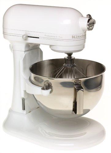 KitchenAid Professional 5 Plus Series Stand Mixers -  White on White
