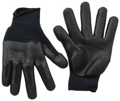 MadGrip F50 Pro Palm Knuckler Handschuhe, Schwarz, Größe L/XL