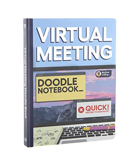 Virtual Meeting Doodle Notebook