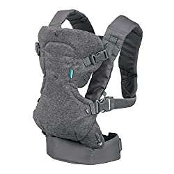 Infantino carrier for nursing while baby wearing