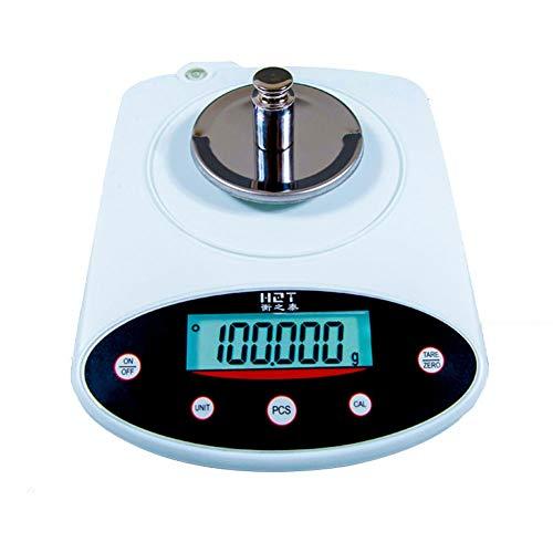 YZSHOUSE Oksmsa Balanza Electrónica 0.01g Industria Precisión 0.001 Laboratorio Electrónico Balance por Joyería Diamante Ratio Experimental Peso (Color : 100g/0.001)