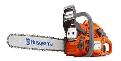Husqvarna 450E-18SAW 18-Inch 50.2cc X-Torq 2-Cycle Gas Powered Chainsaw With Smart Start