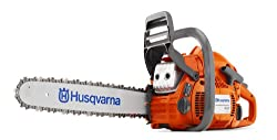 Husqvarna 450 18-Inch 50.2cc X-Torq the best gas homeowner chainsaw
