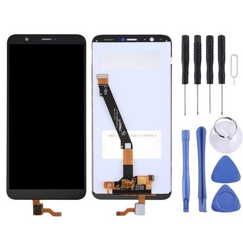 ZHUHAI vervangende Display Touch Screen Reparatie LCD-scherm en Digitizer Volledige montage voor Huawei P Smart (Geniet 7S)(zwart), Zwart