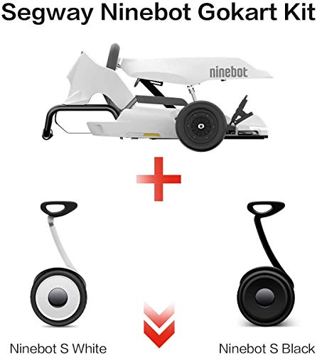 BelievE Hoverkart Go-Kart Kit Patinete Eléctrico, Longitud Ajustable, Compatible 100% con Hoverboards Compatible con Todos los patinetes Kit de Kart Modificado Ninebot Xiaomi No. 9 Balance Car